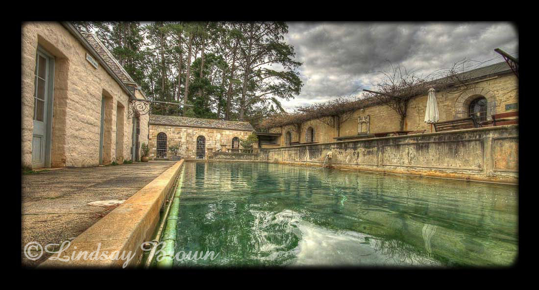 Pool at Montsalvat